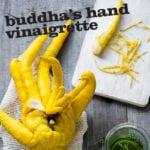 Buddha's Hand Vinaigrette