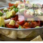Heirloom Apple and Avocado Salsa