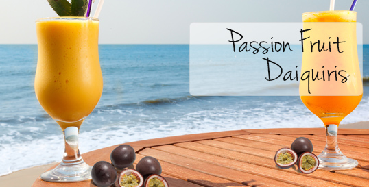 Passion Fruit Daiquiris