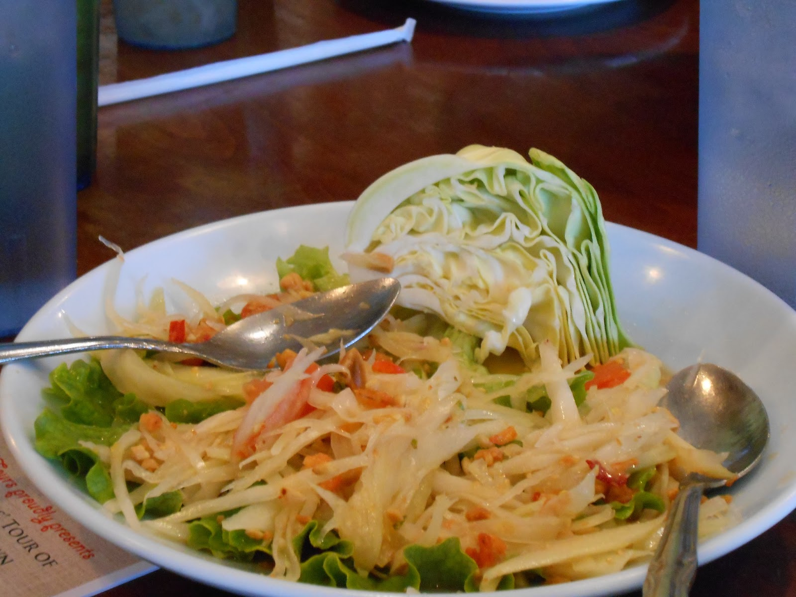 What's on Karen's Blog? - Karen's Blog - Thai Town - Melting Pot Tour - Som Tum - Papaya Salad - Ruen Pair