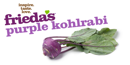 Frieda's Specialty Produce - Purple Kohlrabi