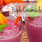 Purple Creamsicle Smoothie