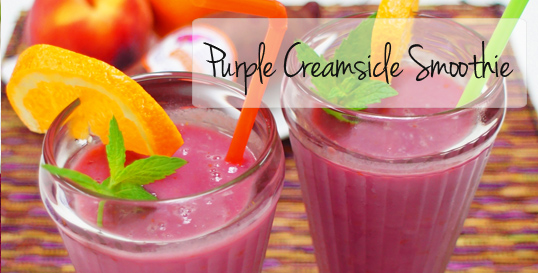 Frieda's Specialty Produce - Purple Creamsicle Smoothie