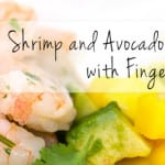 Shrimp & Avocado Salad with Finger Limes