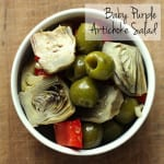 Baby Purple Artichoke Salad