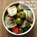 Baby Purple Artichoke Salad