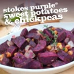 Spiced Stokes Purple® Sweet Potatoes and Chickpeas
