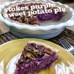 Stokes Purple® Sweet Potato Pie