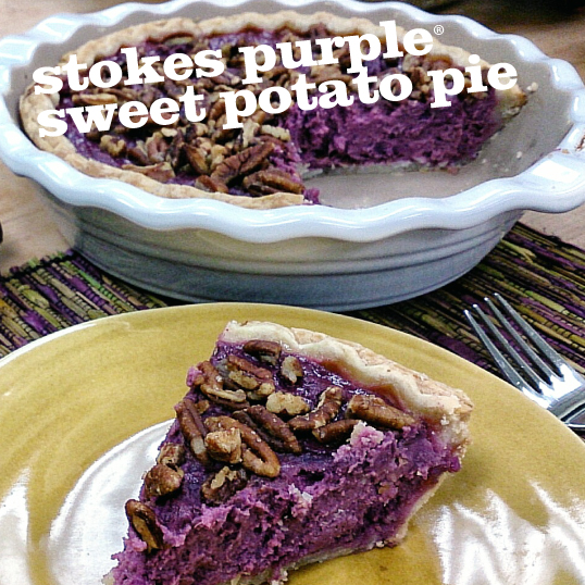 Frieda's Specialty Produce - Stokes Purple Sweet Potato Pie