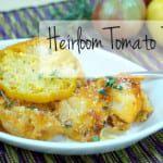 Heirloom Tomato Pudding