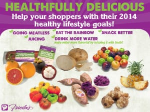 Frieda's Specialty Produce - Healthy Eating 2014