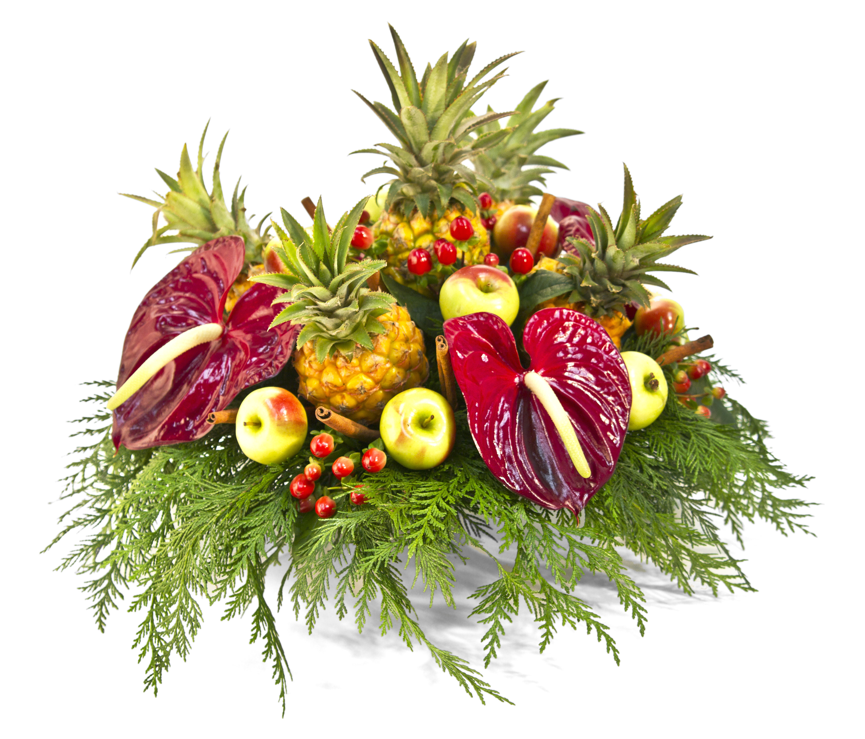 Frieda's Specialty Produce - Zululand Queen Baby Pineapple - Floral Arrangement