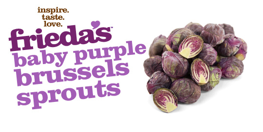 Frieda's Specialty Produce - Baby Purple Brussels Sprouts