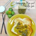 Greengage Plum and Vanilla Jam