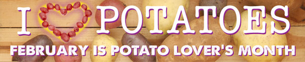 Frieda's Specialty Produce - What's on Karen's Plate? - Potato Lover's Month