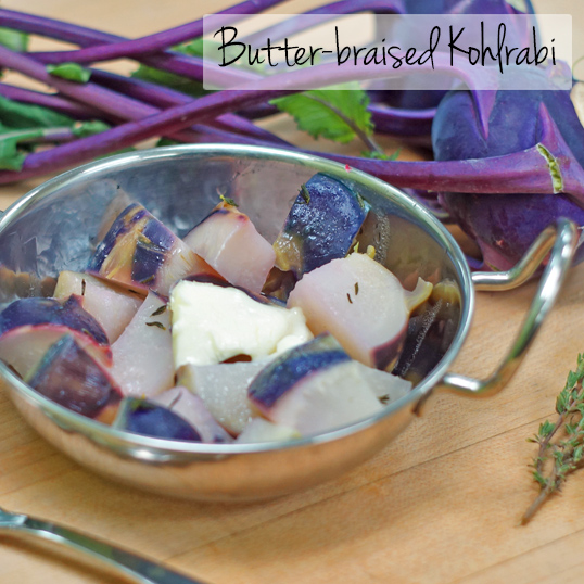 Frieda's Specialty Produce - Butter-braised Kohlrabi