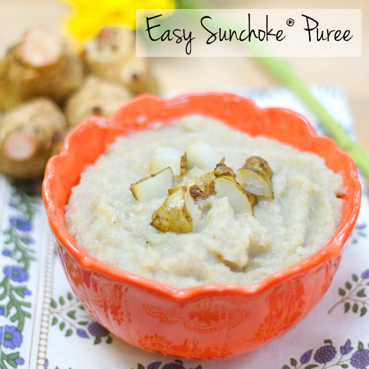 Easy Sunchoke® Puree