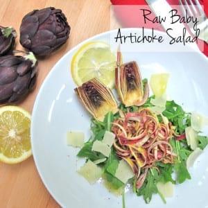Frieda's Specialty Produce - Raw Baby Artichoke Salad