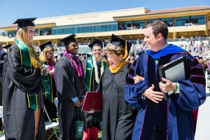 Frieda's Specialty Produce - Frieda Rapoport Caplan receives honorary doctorate from Cal Poly - Photo credit: Jean Paul Molyneux