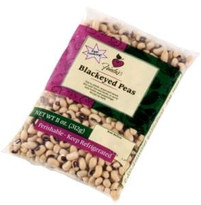 Old Blackeyed Pea Packaging