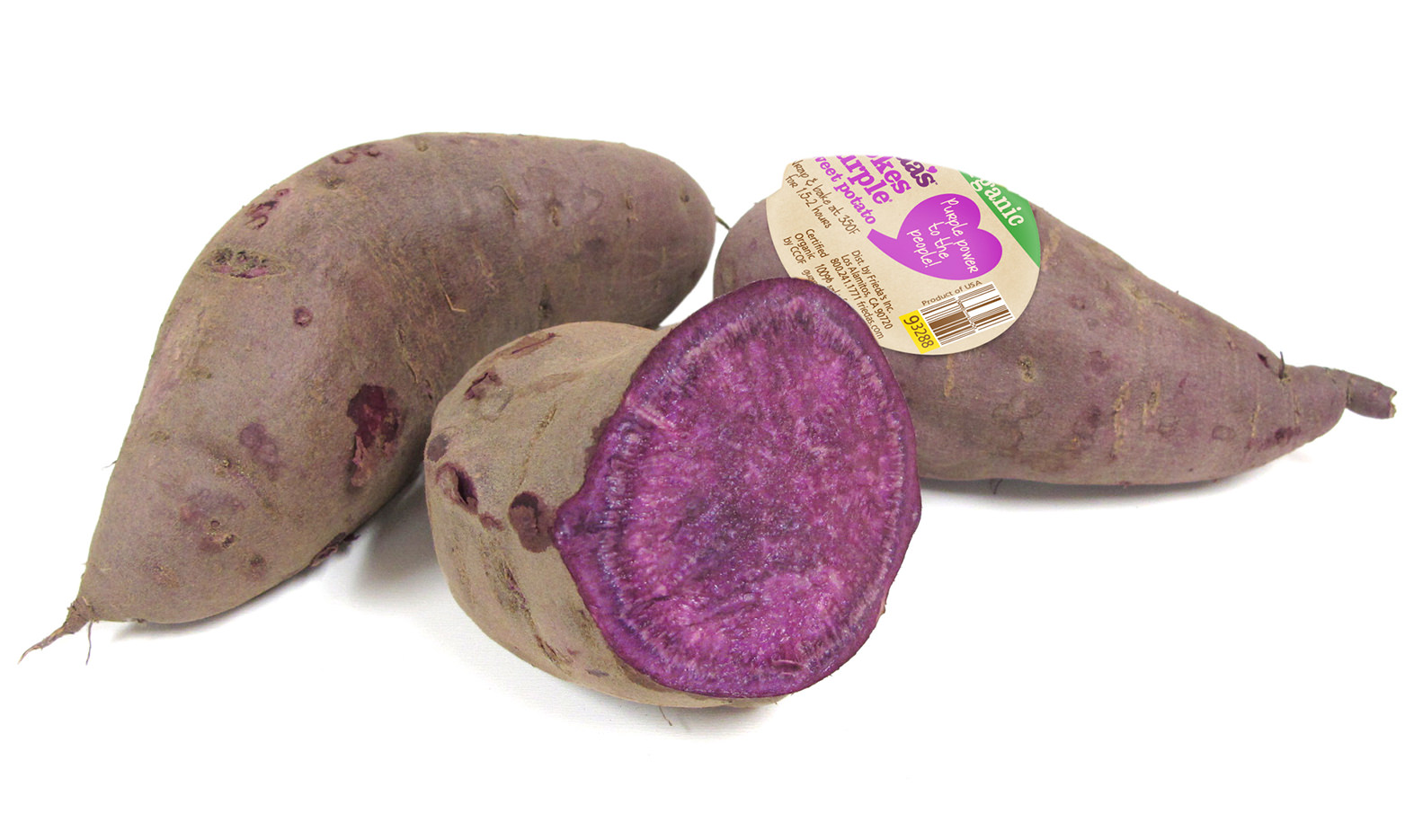 Organic Stokes Purple<sup>®</sup> Sweet Potato Image