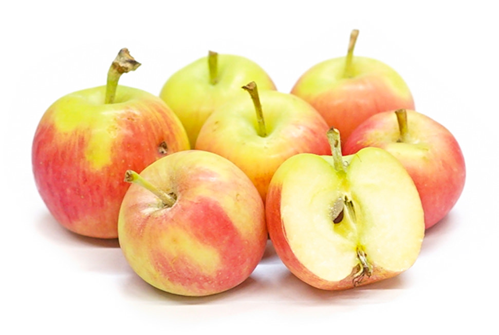 Organic Crimson Gold Apples Image