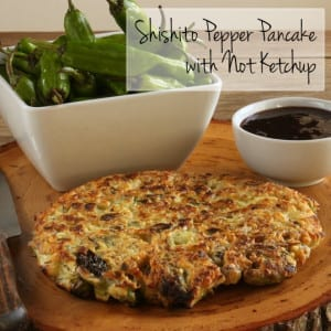 Frieda's Specialy Produce - Shishito Pepper Pancake with Not Ketchup