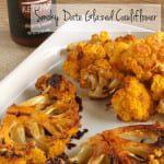 Smoky Date Glazed Cauliflower