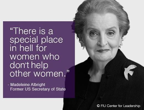 Frieda's Specialty Produce - What's on Karen's Plate? - Madeleine Albright quote
