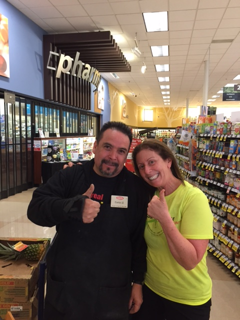 Frieda's Specialty Produce - Love Your Produce Manager Day - Carlos and I