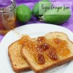 Feijoa Ginger Jam