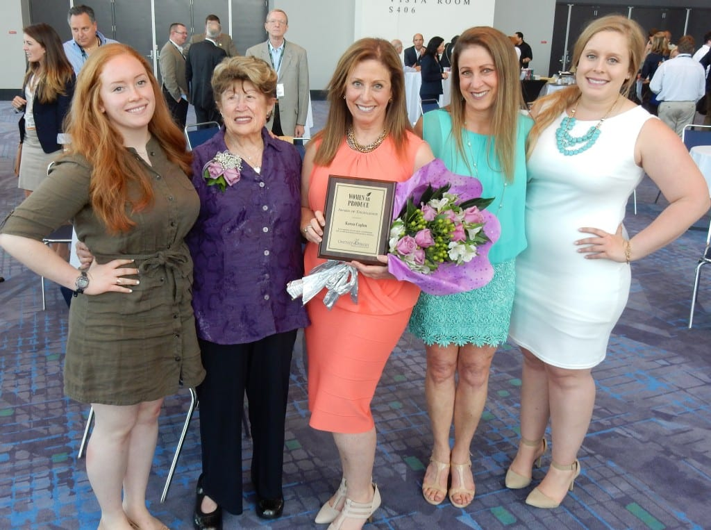 Caplan family at Women in Produce 2015