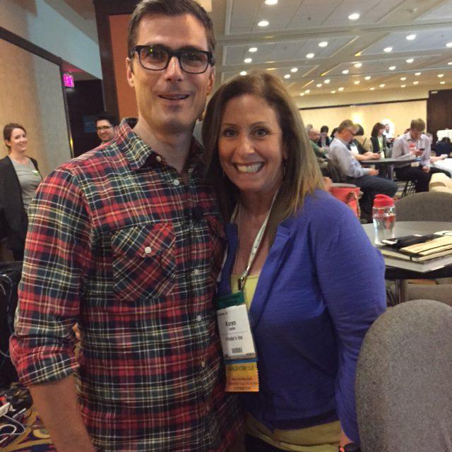 Karen Caplan and Hugh Acheson
