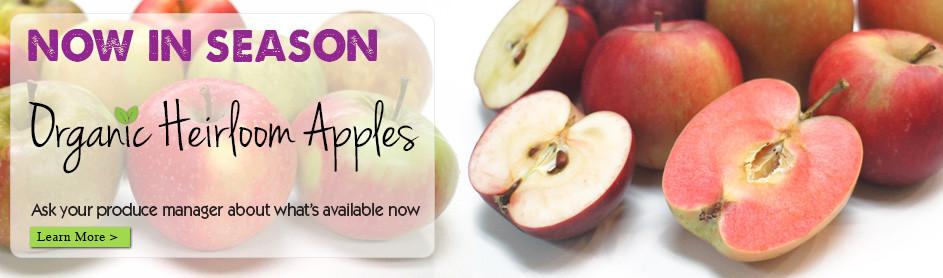 Organic Heirloom Apples