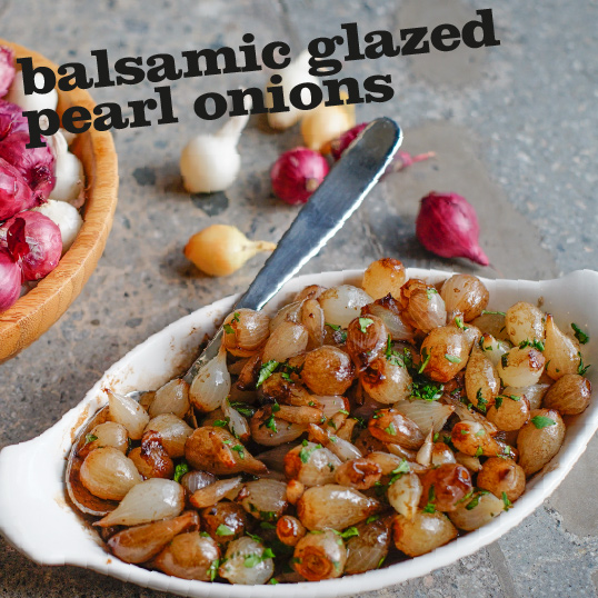 Frieda's Specialty Produce - Balsamic Glazed Pearl Onions