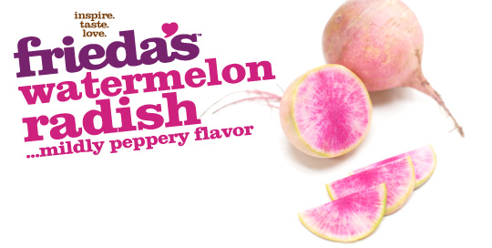 Frieda's Watermelon Radish