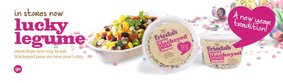 Frieda's Specialty Produce - Lucky Legume - Blackeyed Peas