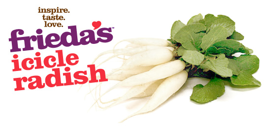 Frieda's Specialty Produce Icicle Radish