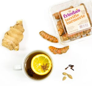 Frieda's Specialty Produce - Turmeric Ginger Tea - Cold Killer
