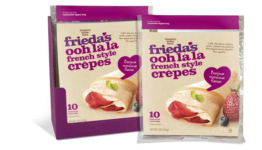 Frieda's Specialty Produce - French style crepes