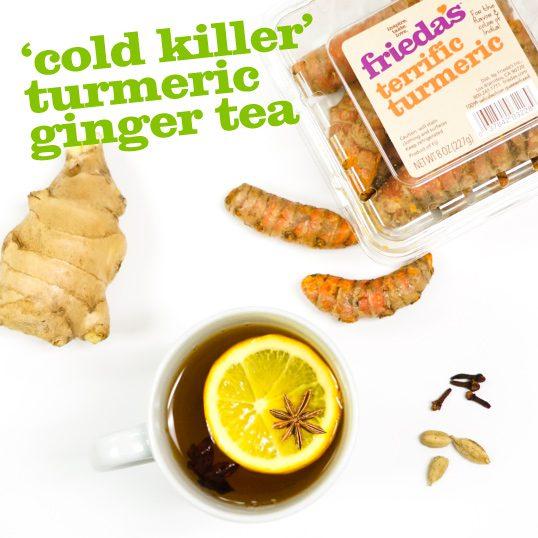 Frieda's Specialty Produce - Cold Killer Turmeric Ginger Tea