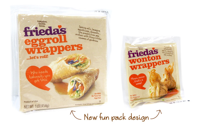 Frieda's Specialty Produce - New Egg Roll & Wonton Wrappers