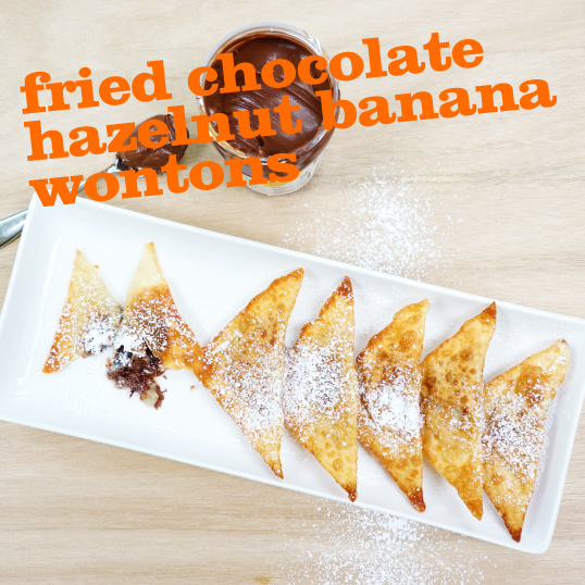 Frieda's Specialty Produce - Fried Banana Hazelnut Wontons