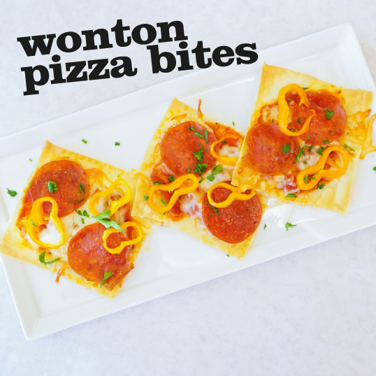 Frieda's Specialty Produce - Wonton Pizza Bites