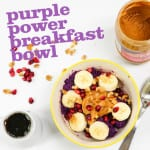 Purple Power Breakfast Bowl