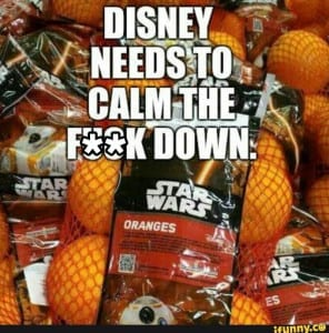 Disney Meme - Star Wars Branding