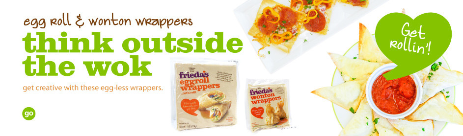 Frieda's Egg Roll and Wonton Wrappers