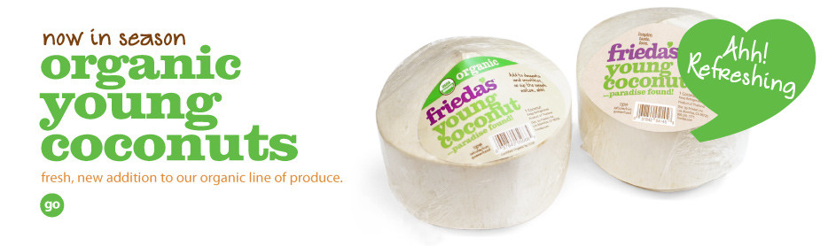 Frieda's Organic Young Coconuts