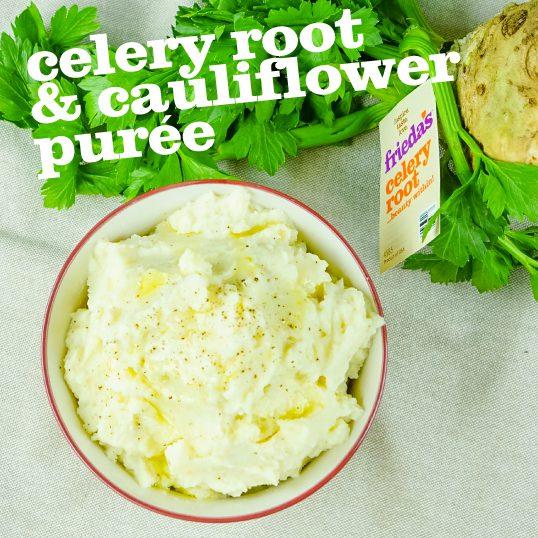 Frieda's Specialty Produce - Celery Root & Cauliflower Puree