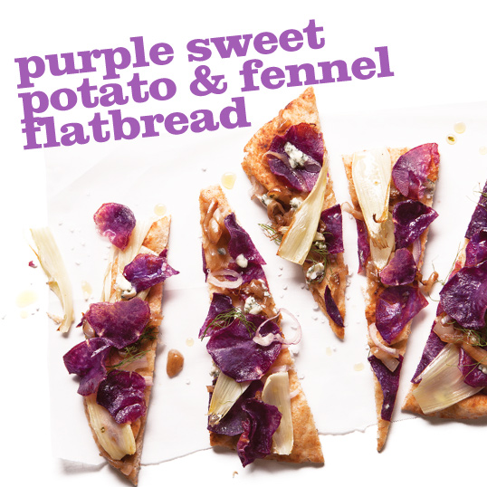 Frieda's Specialty Produce - Purple Sweet Potato Fennel Flatbread